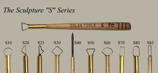Dolan Tools S Series Sculpting Tools