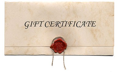 Potters Gift Certificate