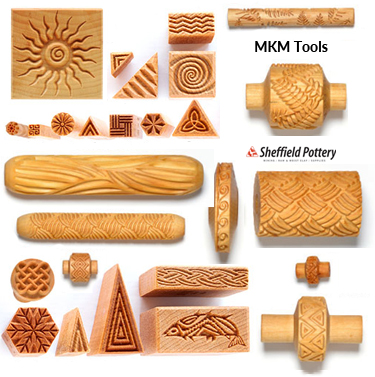 MKM Tools Texture Rollers and Stamps