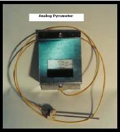 Olympic Kilns Analog Pyrometer