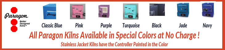 Paragon Kilns Special Colors Free !