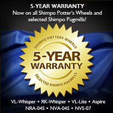 Shimpo Wheels 5 Year Warranty