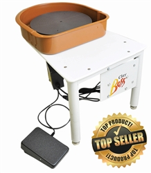 Clay Boss is a top selling beginner to intermediate potters wheel