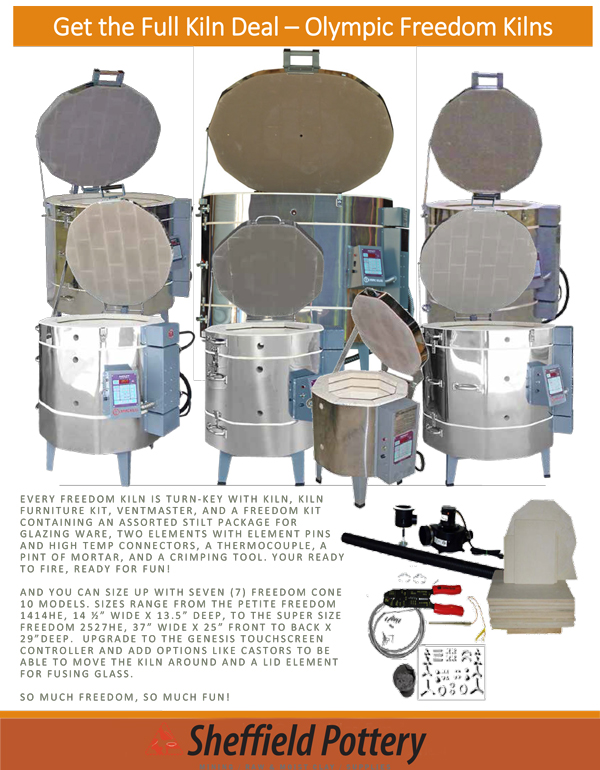 Olympic Freedom Series Kiln Packages