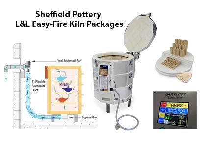 L&L Easy Fire Kiln Packages