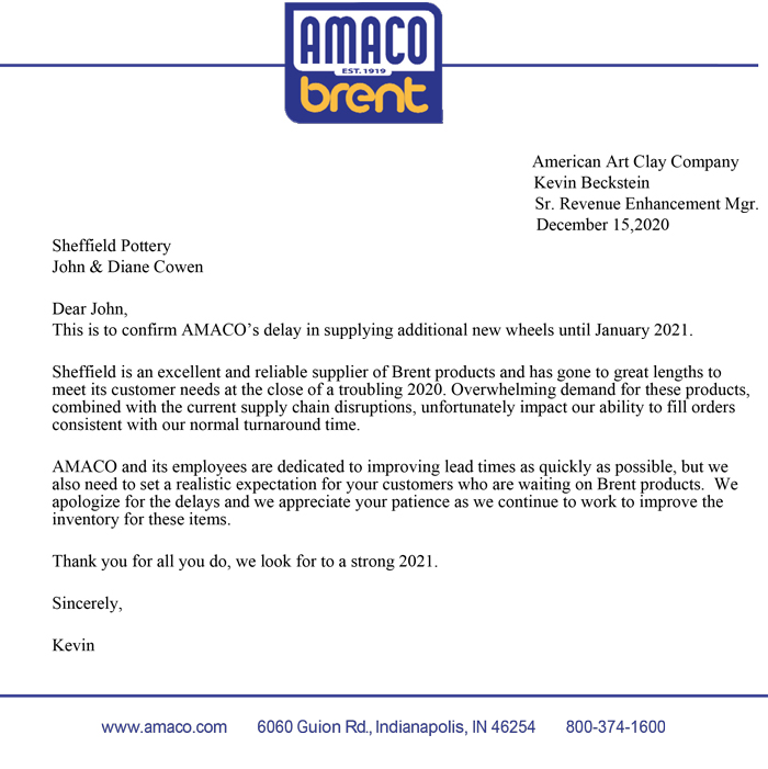 Amaco-brent-availability-letter