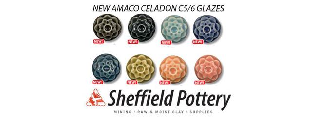 new amaco celadon glazes
