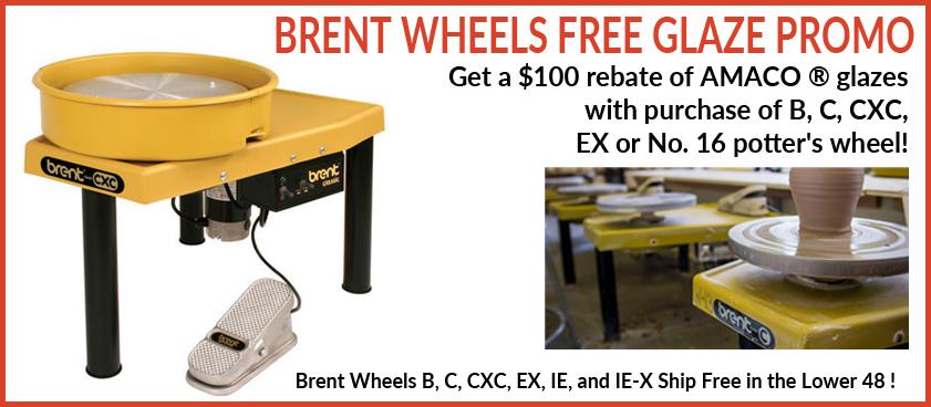 Brent Potter's Wheel free Glazes