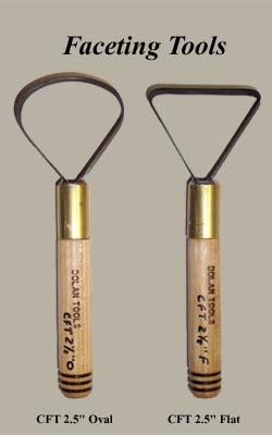 Dolan Tools CFT Clay Faceting Tools