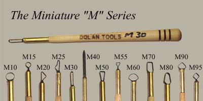 Dolan Tools M Series Mini Sculpting Tools
