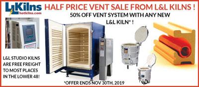 L&L Half Price Vent Sale Promo