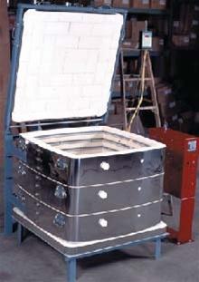Large top-loading kiln