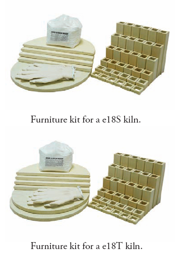L&L Kilns 18 Furniture Kit