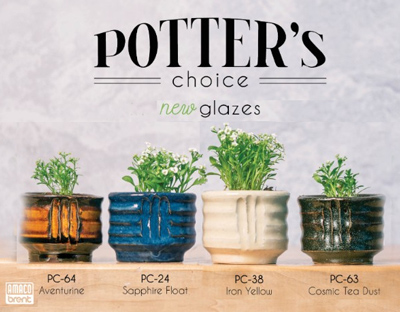 new amaco potters choice glaze colors