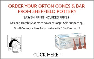 Orton Cones and Bars Discounted with Free Shipping