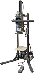 Peter Pugger Vertical powered clay extruder
