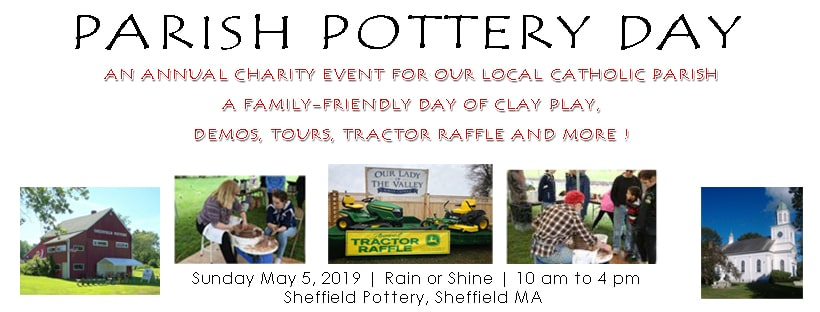PArish Pottery Day Christian Charity Event