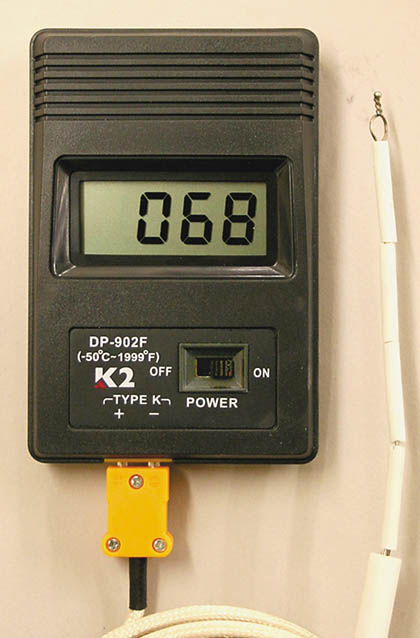 Paragon Kilns DT2-7 Digital Handheld PYROMETER