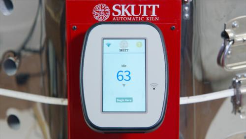 Skutt KMT touchscreen kiln controller