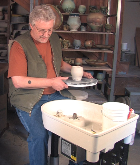 Stephen Hill Pottery Throwing Skutt Wheels